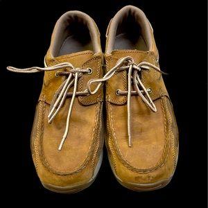 Men's Beige Irish Setter Boat Shoes